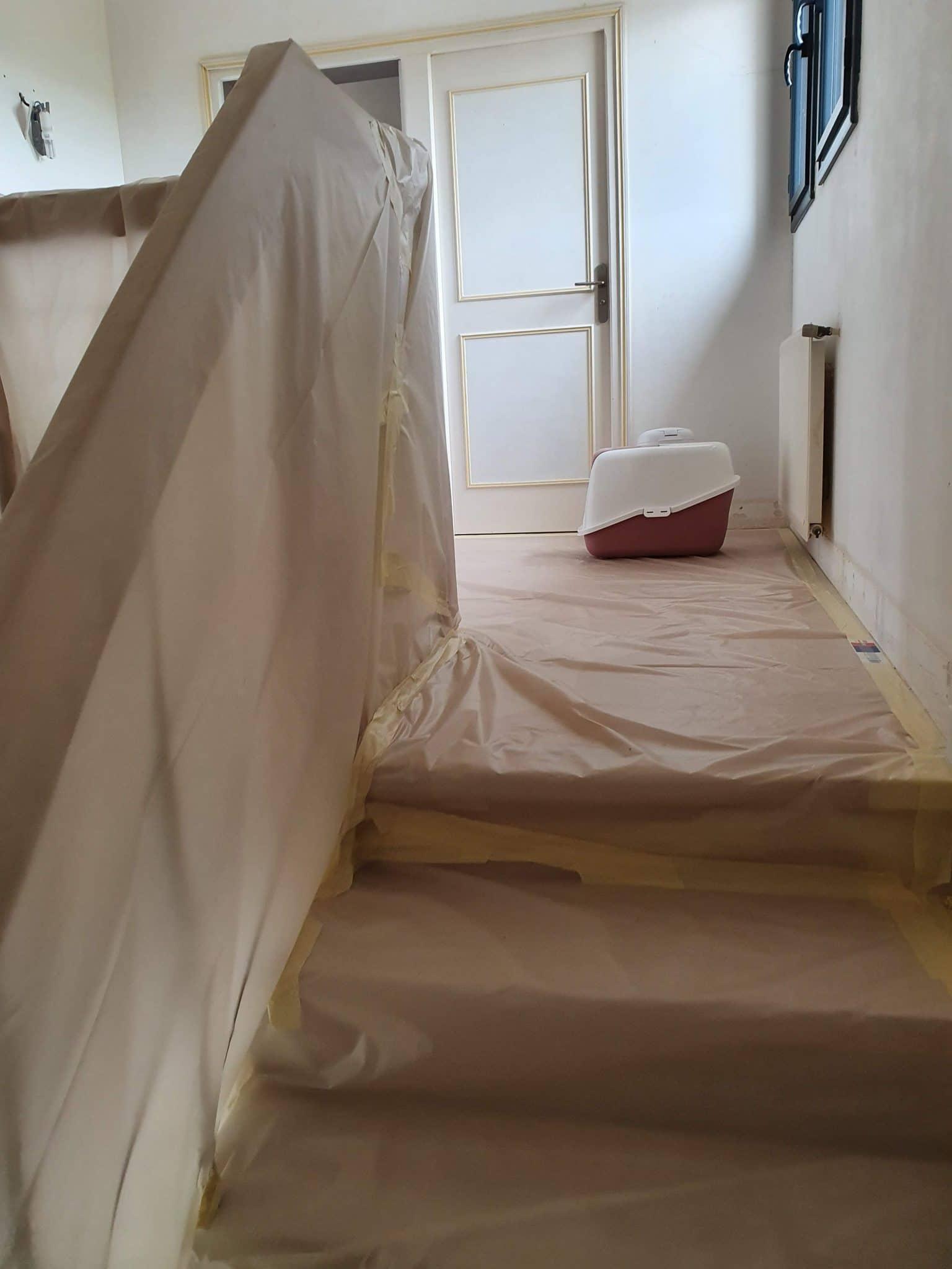 Rénovation d'une cage d'escalier à Angoulême (16)