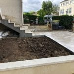 rénovation d'extérieur terrasse carrelage escalier maçonnerie menuiserie Villepreux