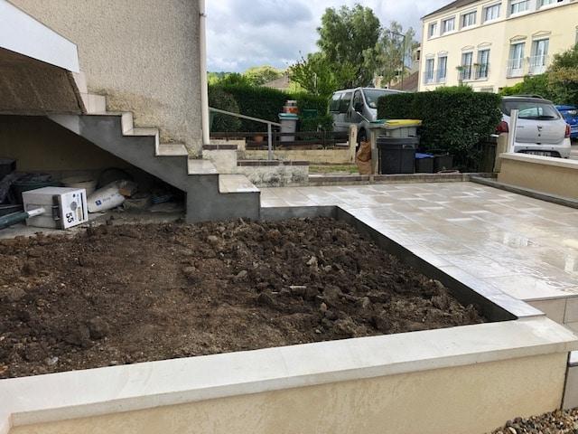 Avant/après d'une rénovation d'extérieur à Villepreux (78)
