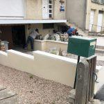 rénovation d'extérieur descente garage menuiserie extérieure maçonnerie clôture Villepreux