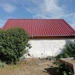 rénovation grange couverture toiture tôle bac acier Saint-Prest