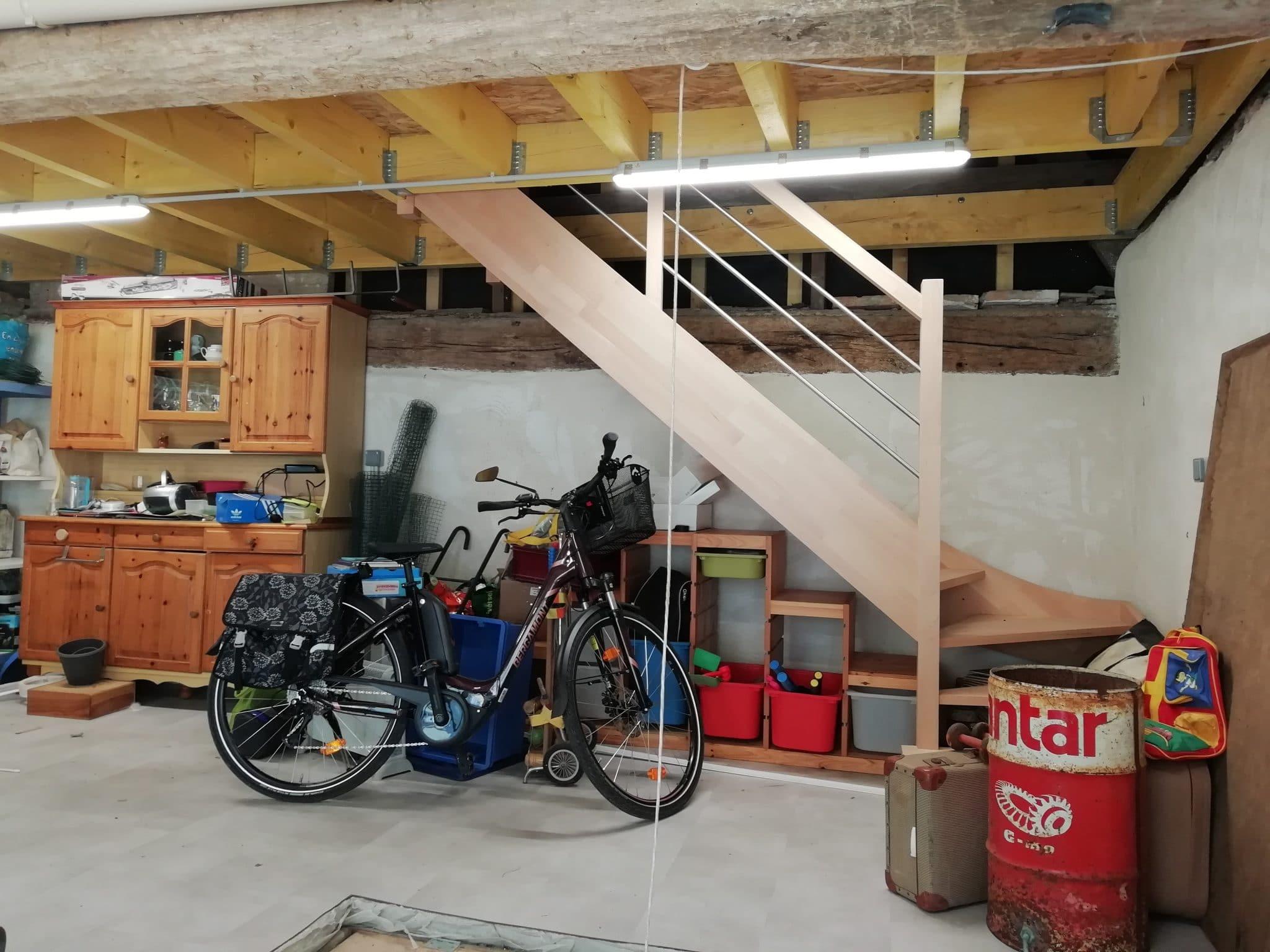Rénovation d'une grange à Saint-Prest (28)