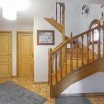 rénovation maison revêtement peinture entrée blanc luminosité Wolfisheim