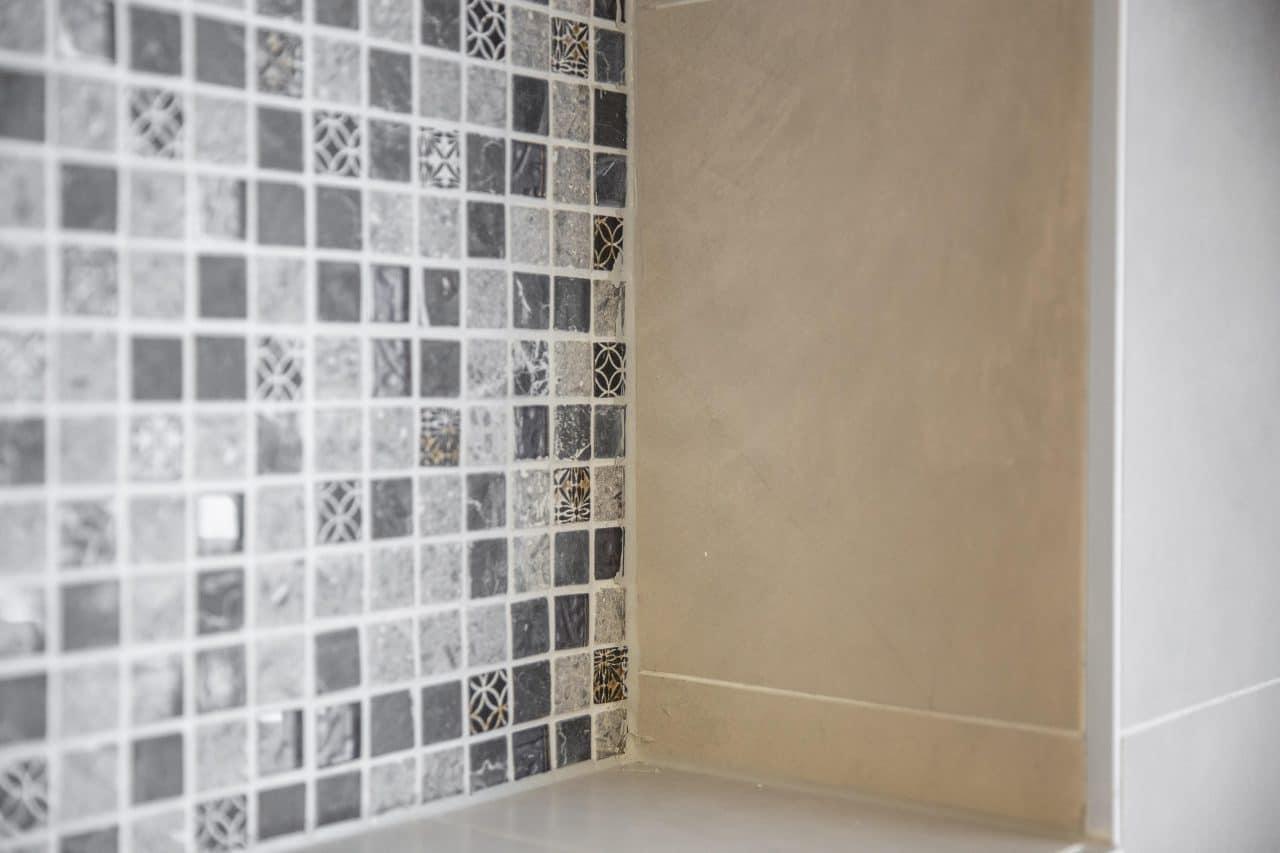 rénovation salle de bain lucarne mosaïque Wolfisheim