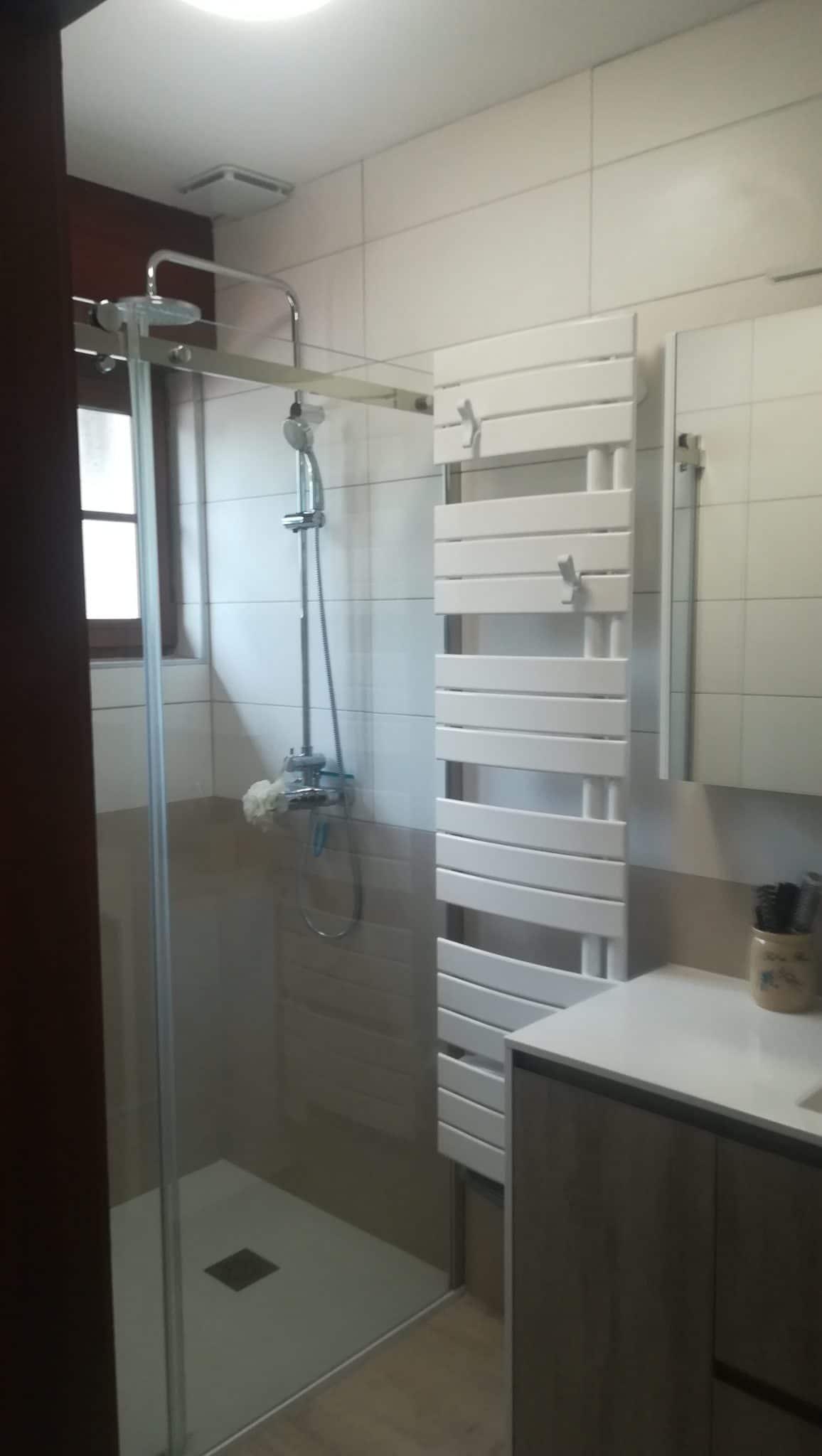 Modernisation d'une salle d'eau à La Chapelle-d'Armentières (59)