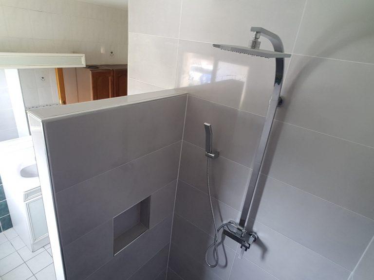 Rénovation partielle d'une salle de bain à Marlenheim (67)