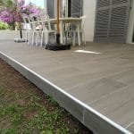 rénovation mur de clôture et terrasse : zoom sur les finitions de terrasse