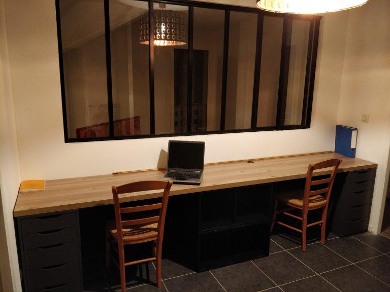 Aménagement d'une mezzanine en bureau à Bilieu (38)