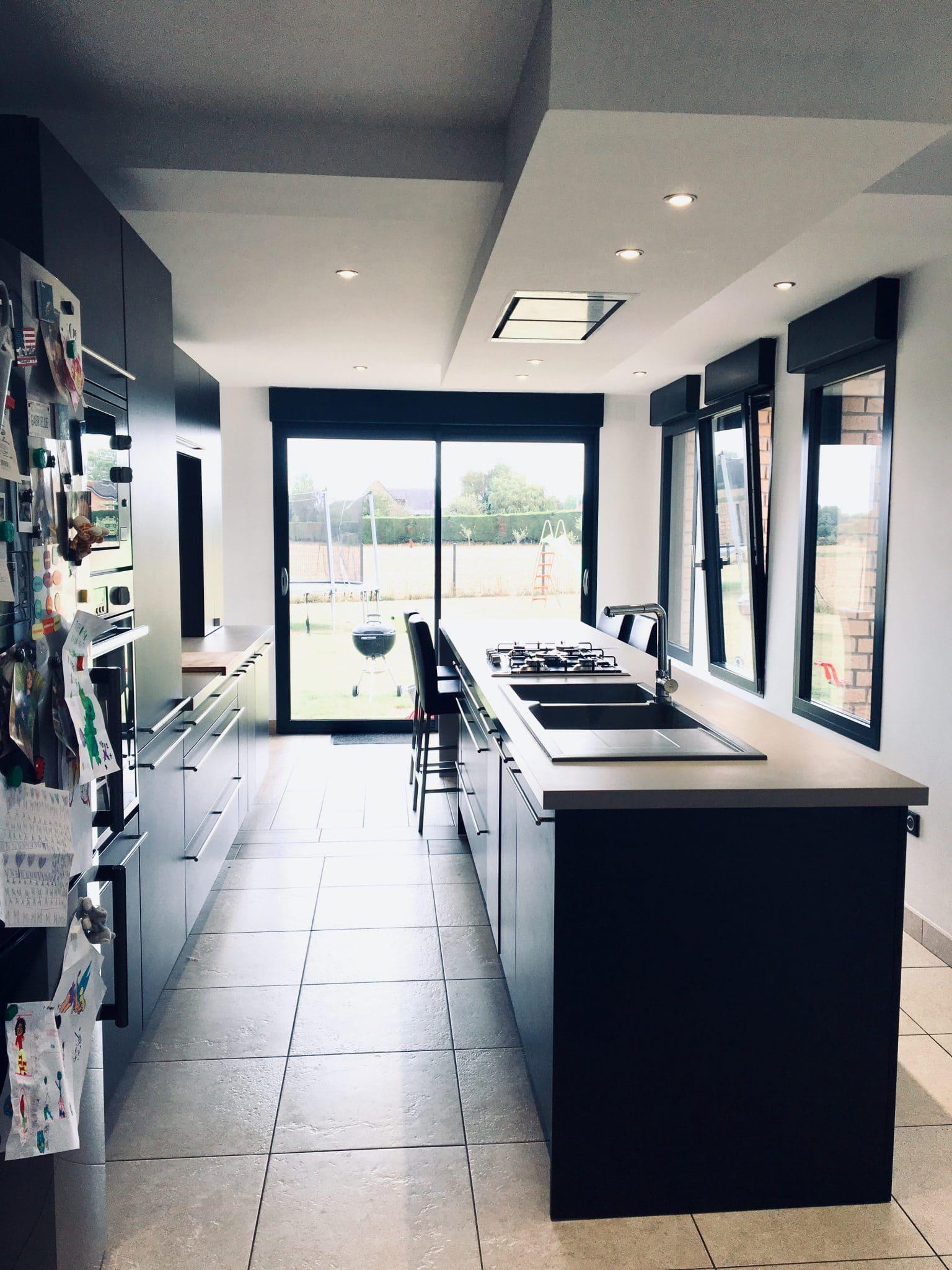 Aménagement d'une cuisine près de Saint-Omer (62)