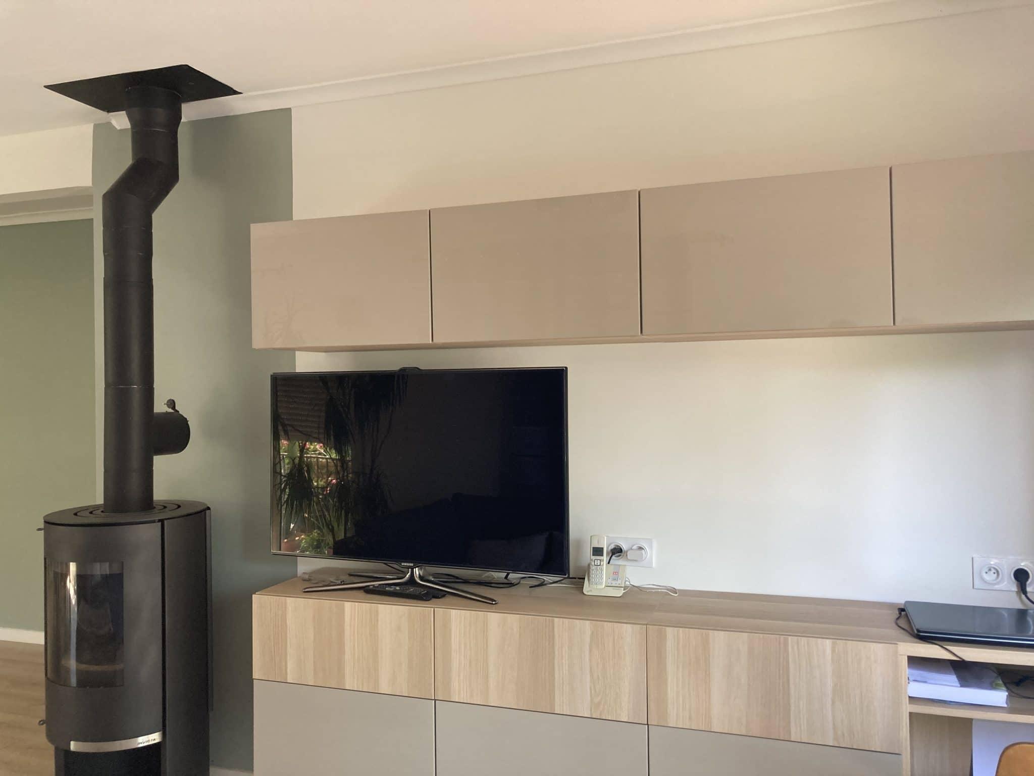 Aménagement intérieur d'une maison à Sauveterre (30)