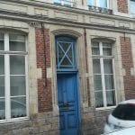 rénovation boiseries Douai - porte d'entrée avant travaux