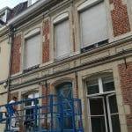 rénovation boiseries Douai - travaux en cours
