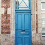 rénovation boiseries Douai - porte d'entrée
