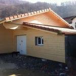 extension de maison à Gières : bardage extérieur en bois