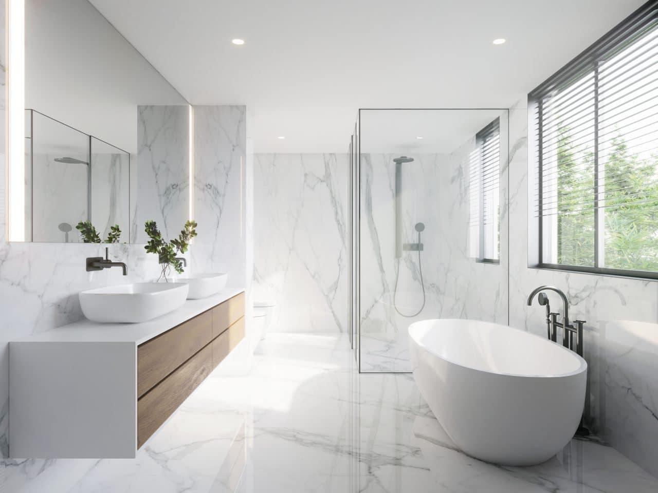 extension maison orléans salle de bain