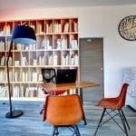 rénovation d'une agence immobilière à Castelnau-le-Lez : bureau