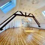 rénovation maison aménagement des combles velux isolation platrerie peinture parquet Audruicq