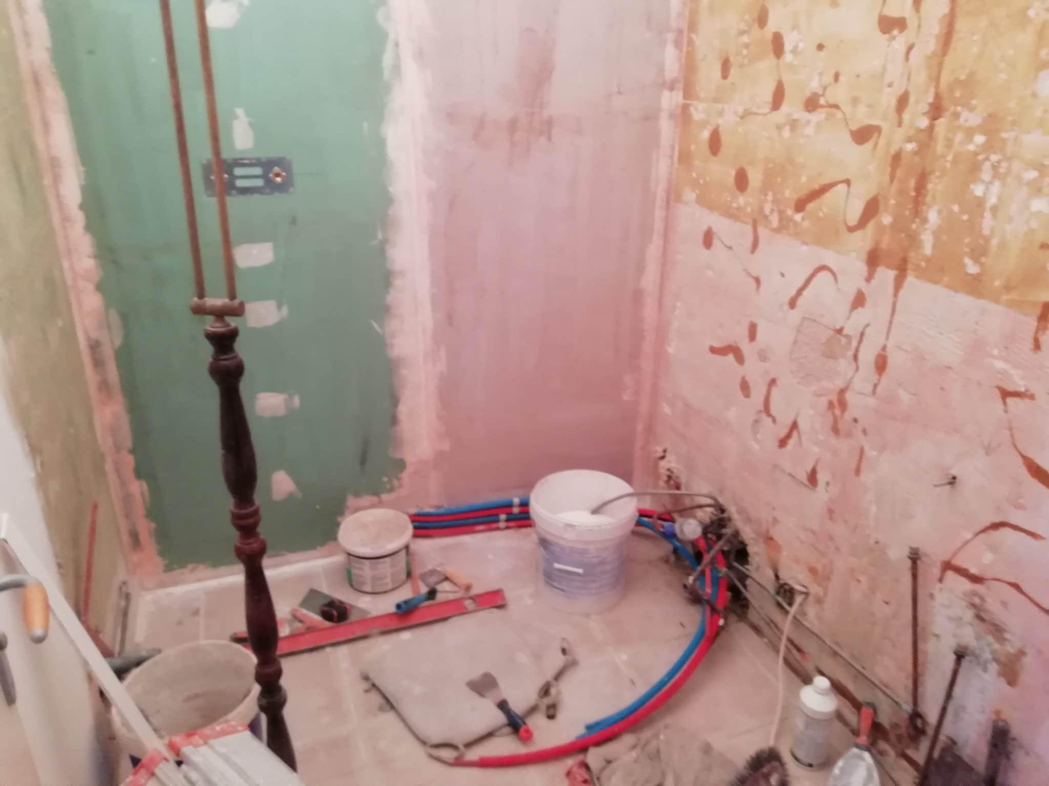 Rénovation complète d'une salle d'eau à Chartres (28)