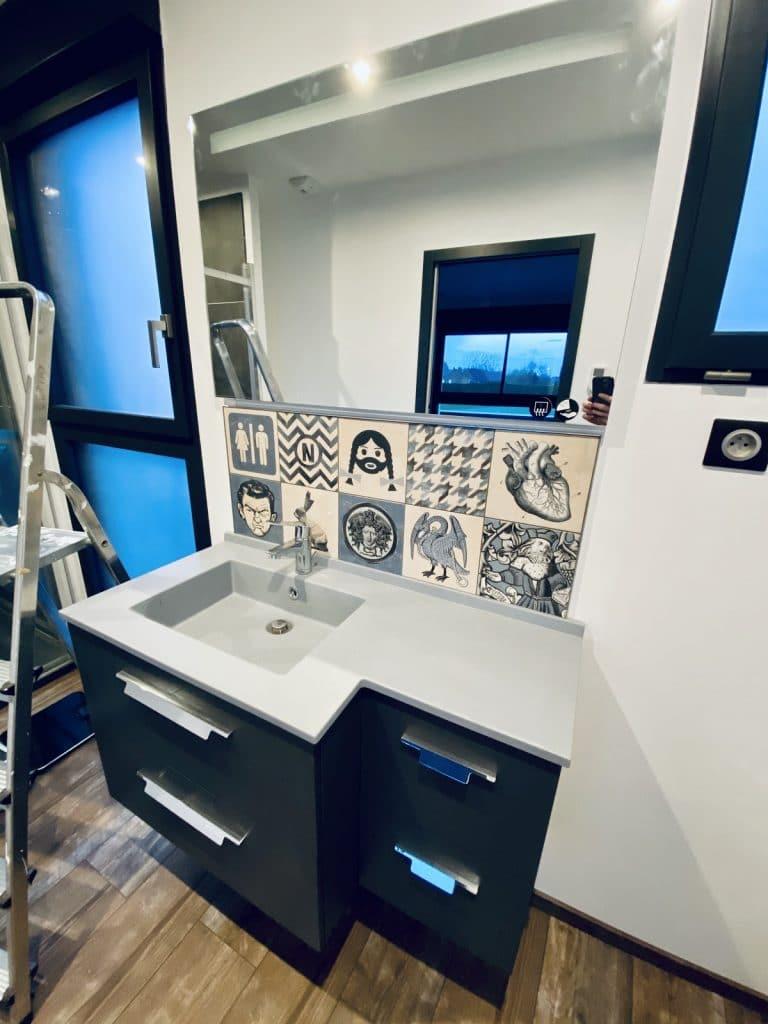 Création d'une salle de bain près de Saint-Omer (62)