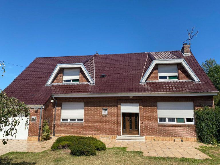 Rénovation d'une toiture à Loos-en-Gohelle (62)