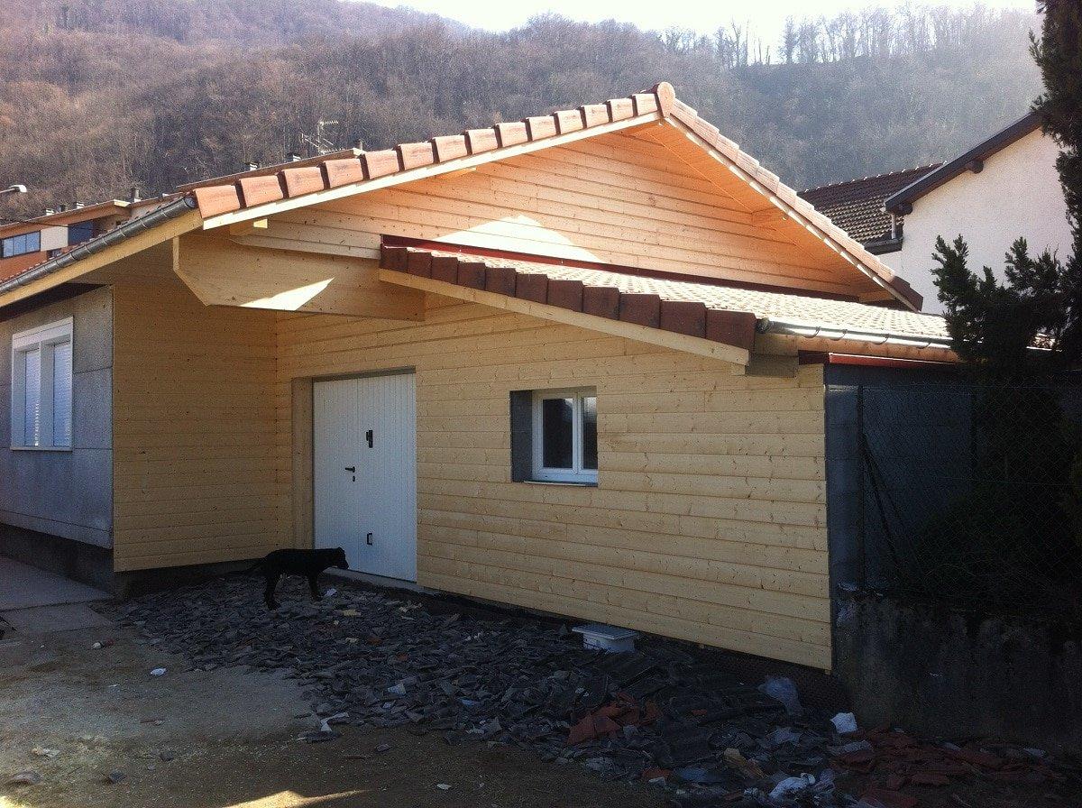 Extension de maison à Gières (38)