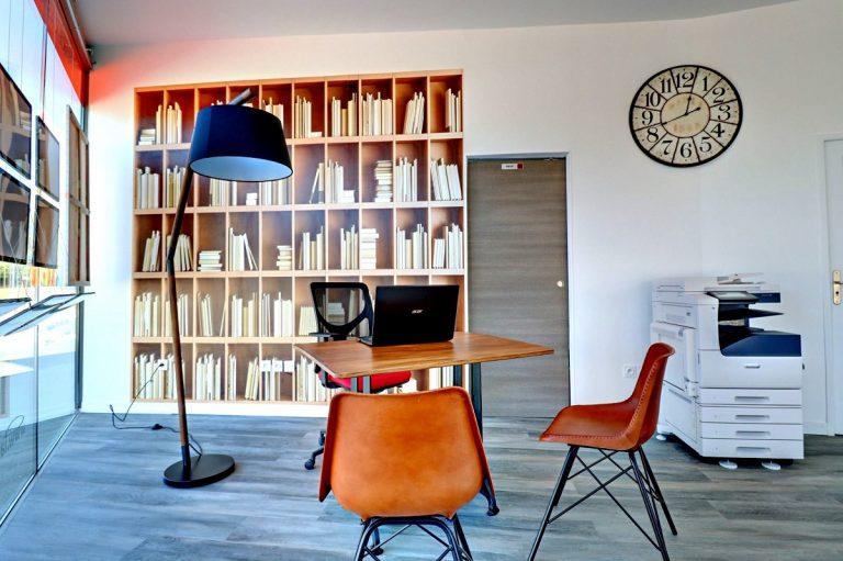 Rénovation d'une agence immobilière à Castelnau-le-Lez (34)