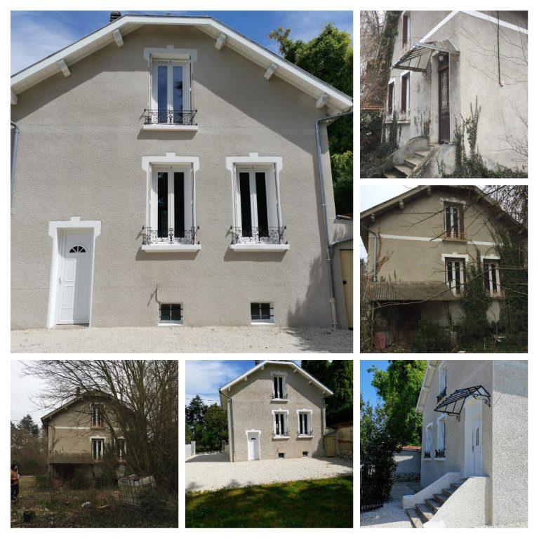 Rénovation de maison aux Abrets-en-Dauphiné (38)