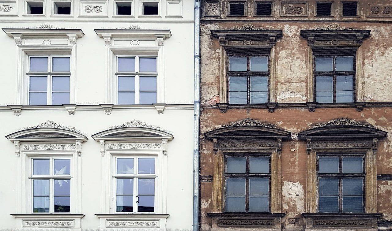 avant après rénovation façade