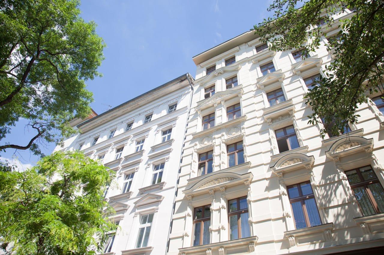 belle façade rénovée