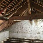 Charpente - Rénovation d'une longère à Treillières