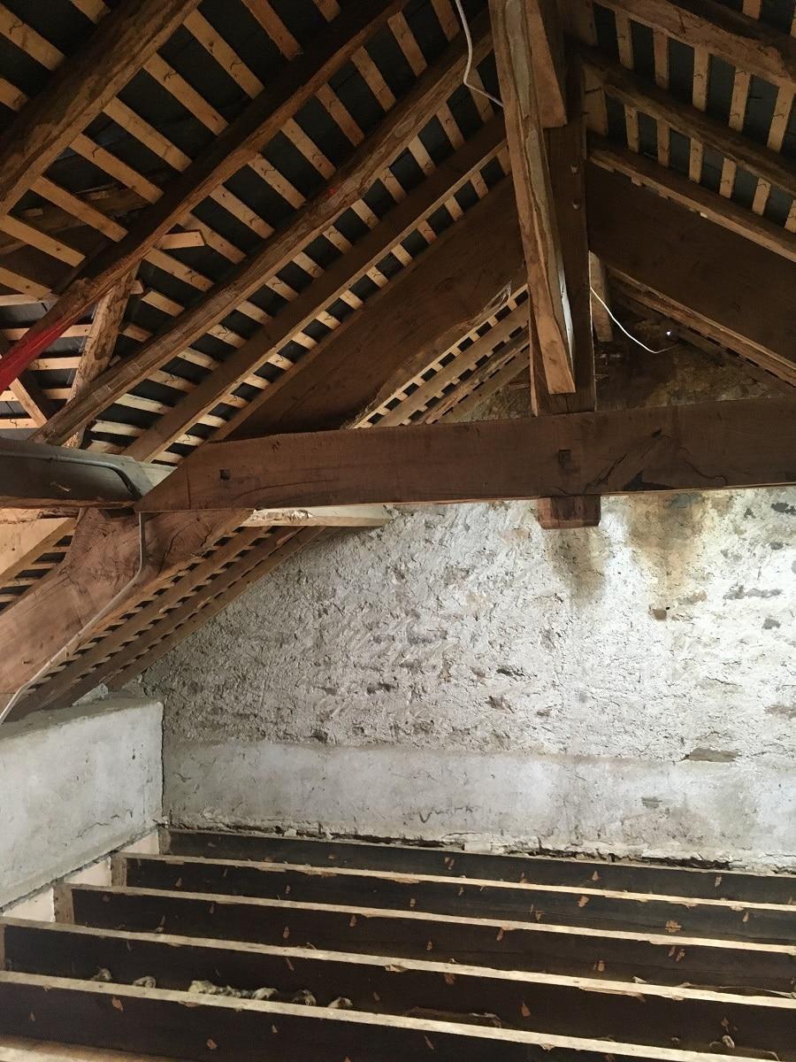 Rénovation d'une longère à Treillières (44)