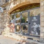 création d'un centre de formation à Bordeaux : devanture