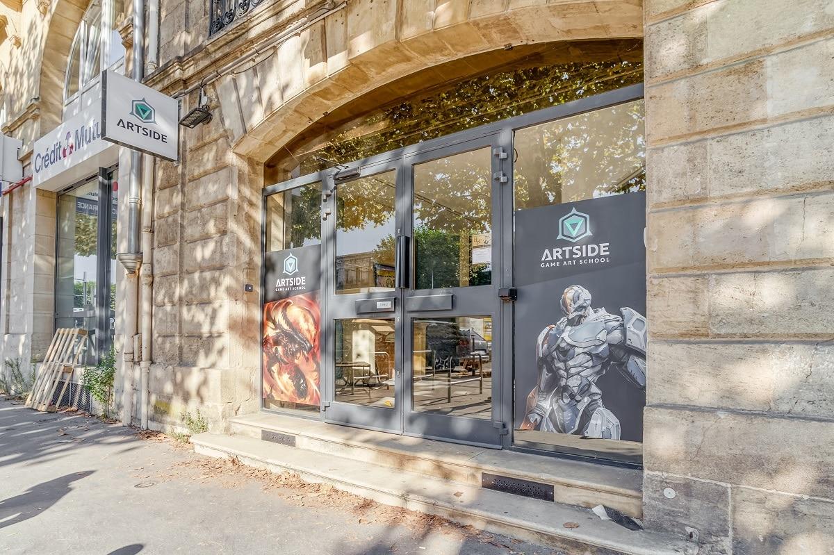Aménagement d'un local professionnel : création d'un centre de formation à Bordeaux (33)