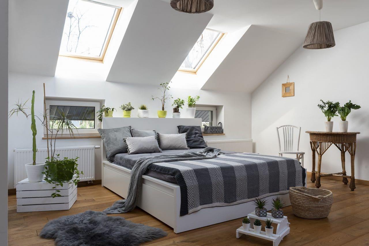 extension maison la rochelle : chambre sous combles