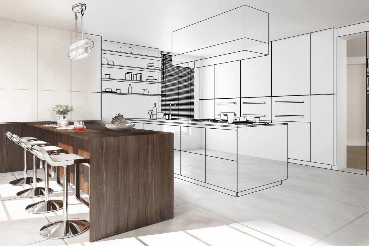 extension maison le puy en velay : cuisine