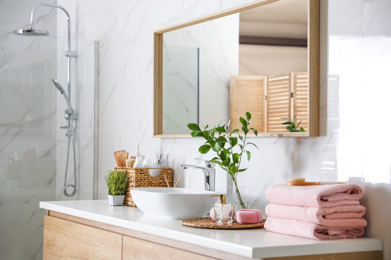extension maison Libourne : salle de bain
