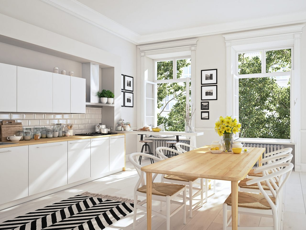 extension maison Nancy : cuisine