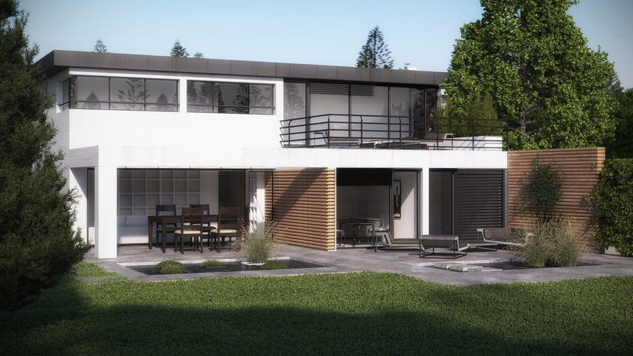 extension de maison par l'agence illiCO travaux St Médard - Le Bouscat - Lacanau