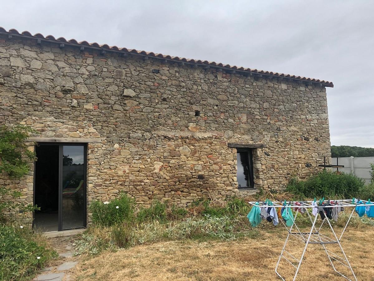 Rénovation d'une grange à Bellevigny (85)