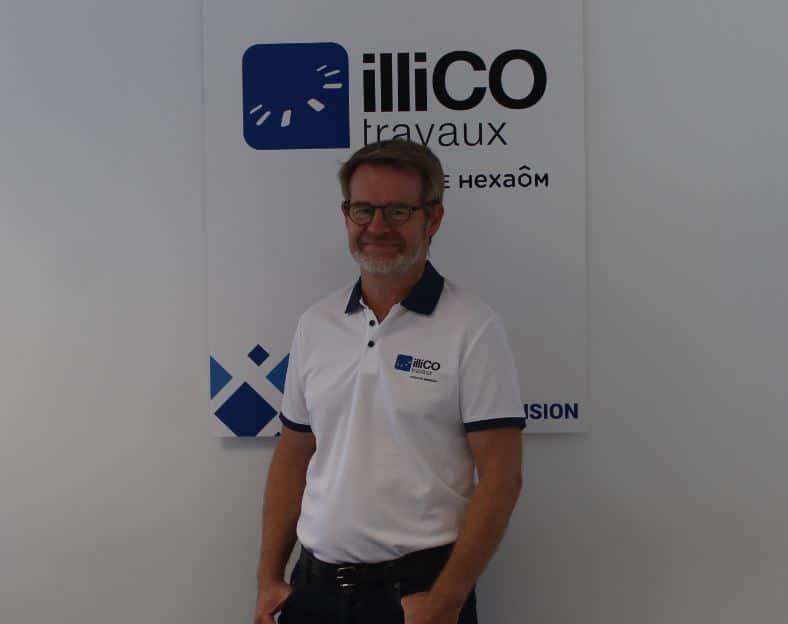 Ludovic Ducaté responsable de l'agence locale illiCO travaux Mâcon