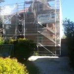 chantier sécurisé - ravalement de façade - Marcq en Baroeul