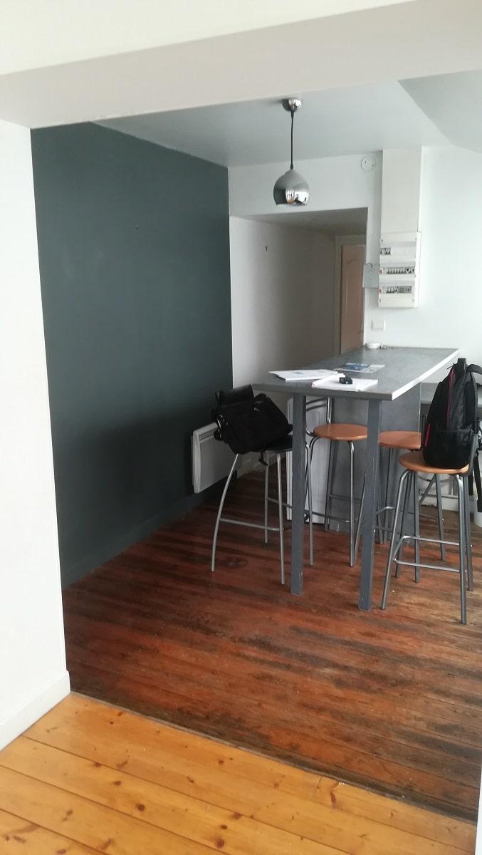 Remise en peinture d'un appartement à Lille (59)