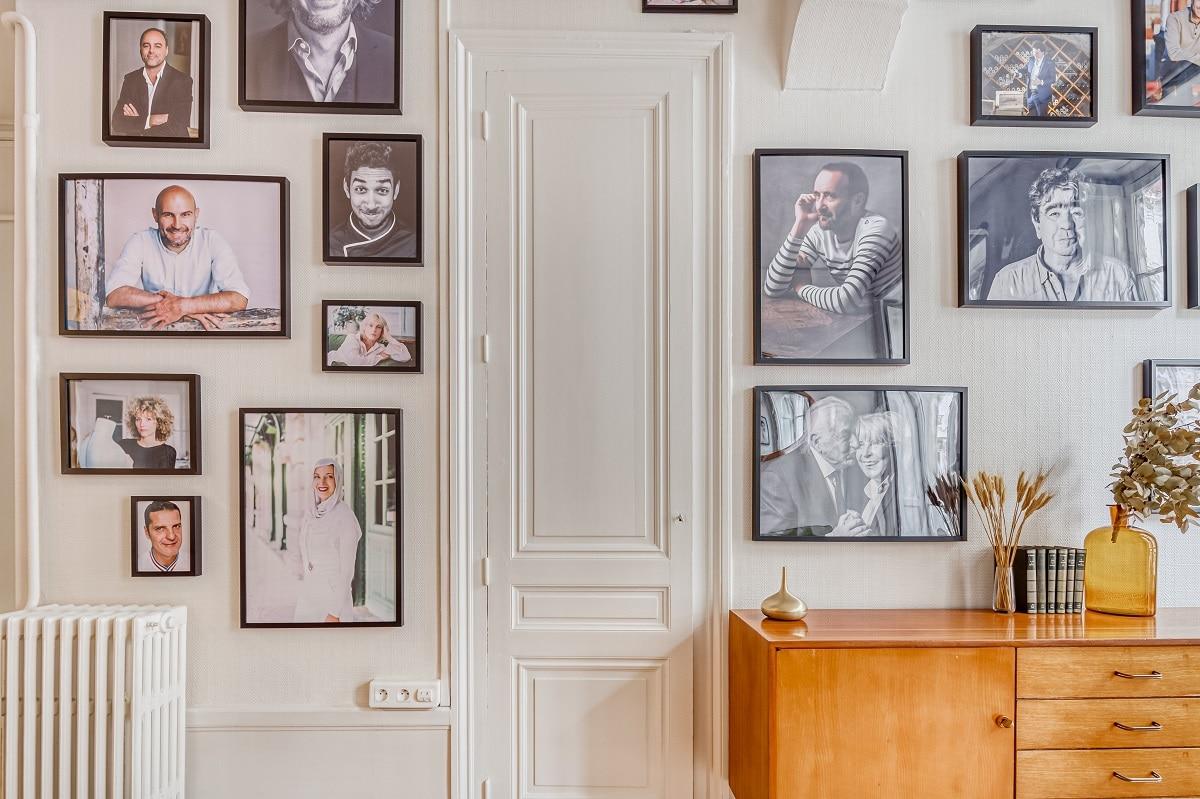 Zoom sur détail de la peinture - Remise en peinture - bureaux professionnels à Lyon