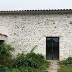 rénovation grange à Bellevigny : façade