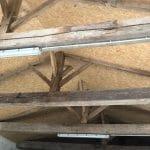 isolation de la toiture - rénovation grange à Bellevigny