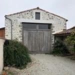 rénovation grange à Bellevigny - entrée