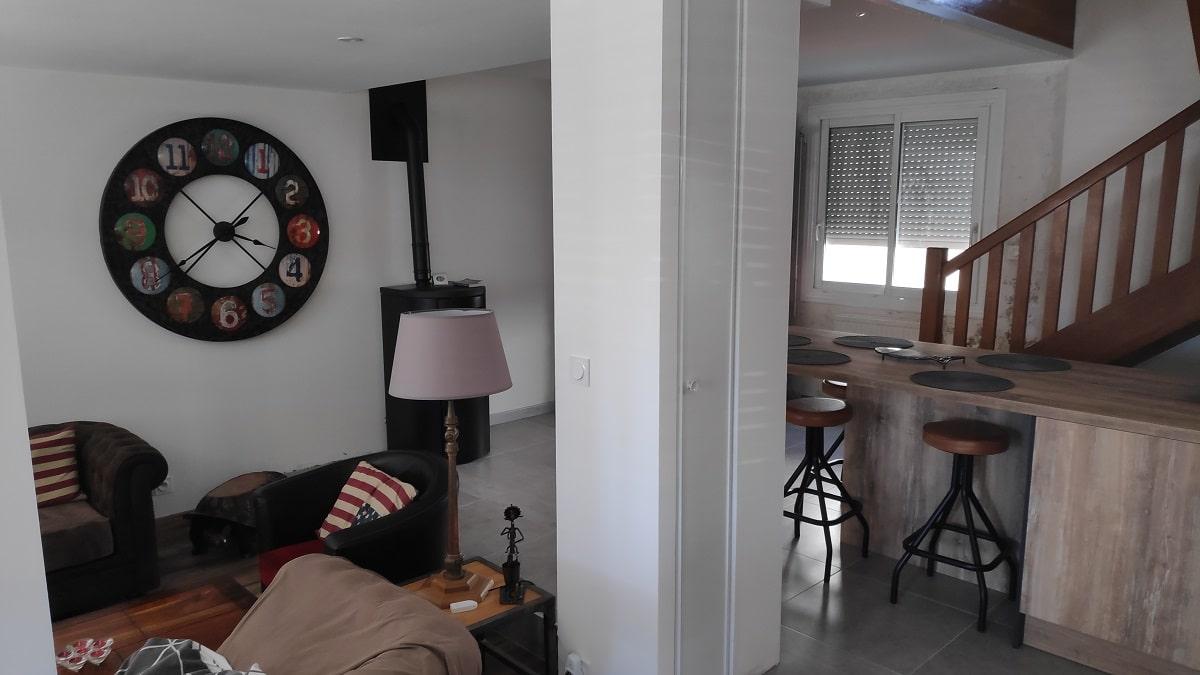 Rénovation intérieure d'une maison au Conquet (29)