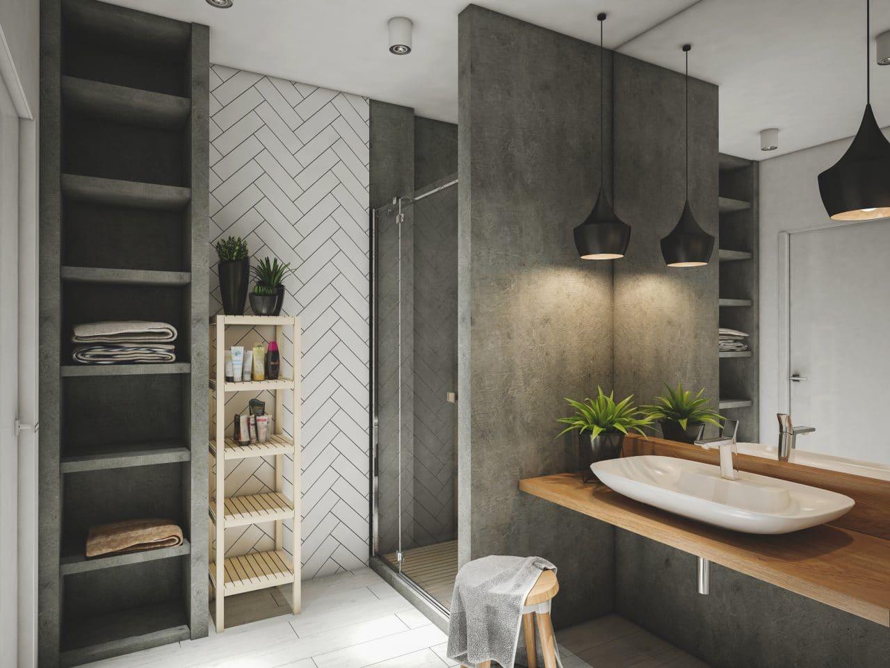 Renovation maison Carcassonne : salle de bain