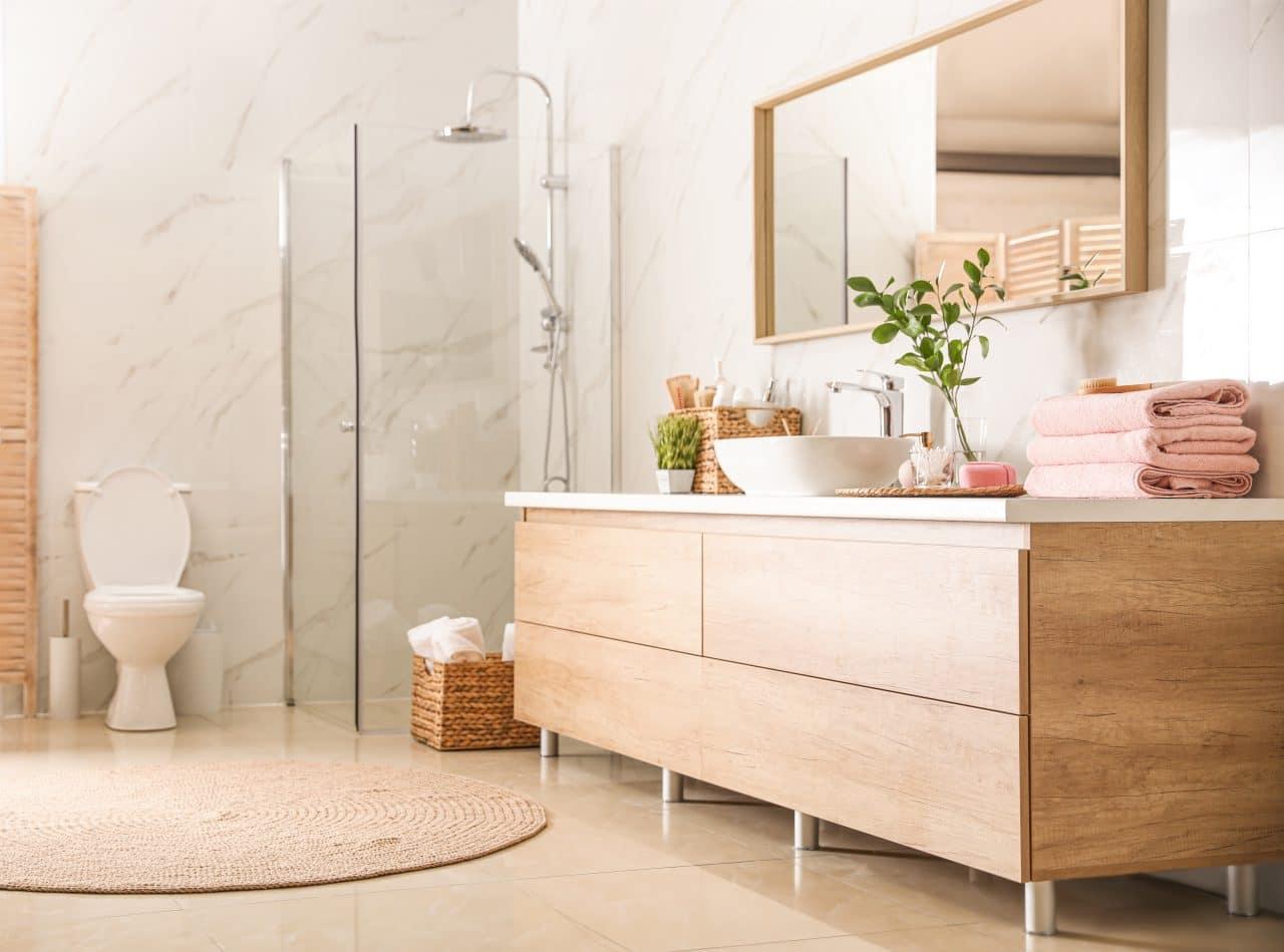 renovation maison La Rochelle : salle bain