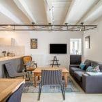 rénovation d'une maison à Rezé : zoom sur le salon rénové